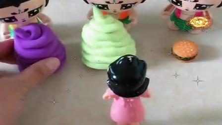 益智少儿亲子玩具:围裙妈妈给葫芦娃带来了最火便便拆开有惊喜