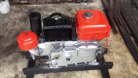 日本久保田12hp发动机,看看这款质量怎么样 。