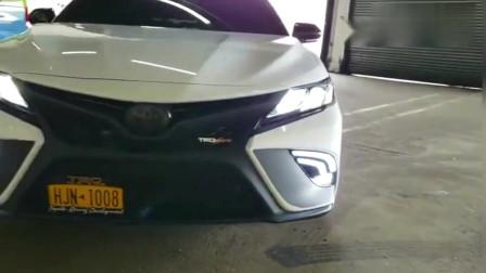 这款丰田凯美瑞, 外观改装跟颜值,不虚宝马奥迪!
