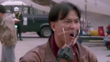 霹雳先锋:星爷受伤,铁柱为其打抱不平怒吼上司,有情义的男子汉