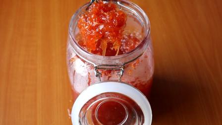 一个柚子加一罐蜂蜜 教你做出止咳润肺蜂蜜柚子茶 再也不用买了