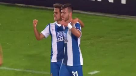 欧联杯:坎布萨诺破门,西班牙人1:0卢多格雷茨