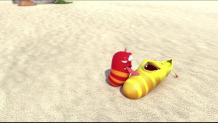 爆笑虫子:沙雕跳舞逗椰子树,真是活见久系列