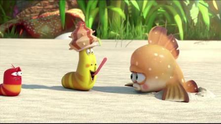 爆笑虫子:沙雕吃彩虹糖,多么灵活的舌头