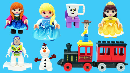 玩乐三分钟 乐高LEGO的冰雪城堡积木玩具