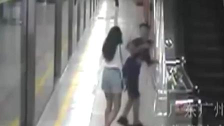 """男子地铁猥亵女生拒不承认 证人勇于提供视频证据助警方""""擒狼"""""""