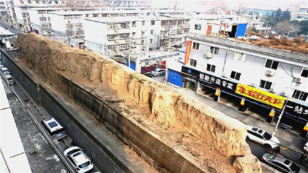 """西安闹市中的""""土墙"""",为什么不改拆?究竟什么来头呢?"""