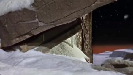 火星上真不是人过的日子,流星体炸裂引起大雪崩,壮观