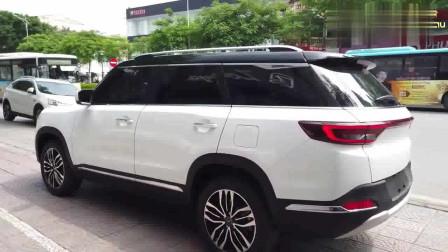 2019款北汽昌河Q7登场,坐进车内打开全景天窗那刻,我彻底心动了