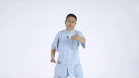 24式太极拳 内容精炼,动作简化 白鹤亮翅 (精讲 ):跟步抱球 虚步分手