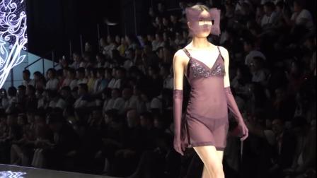 国内模特内衣秀: 自信时尚