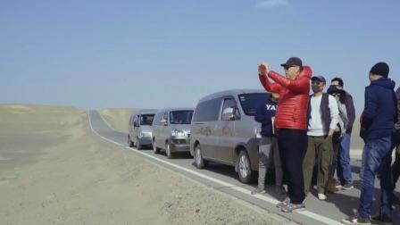 陈凯歌戈壁滩实地勘景,柏油公路实力助攻