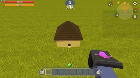 迷你世界:暗墨变小 进入超级小的玩具房子里边什么都有