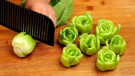 上海青好吃有诀窍,教你特色做法,简单营养又解馋,给肉都不换