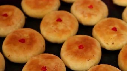美丽中国乡村行:当地特色美食,驴油月饼,吃过吗?