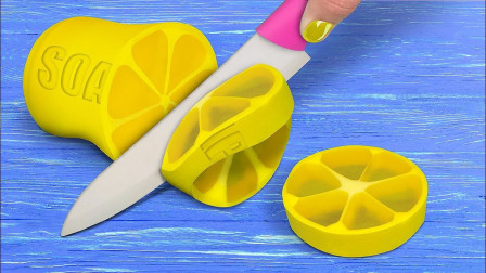 柠檬香皂,寿司香皂,卡布奇诺香皂等~好美啊,好想拥有这些独一无二的东西呀~