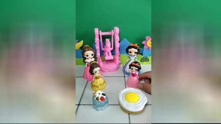 少儿亲子幼教:白雪和贝儿的生日蛋糕