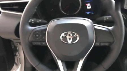2019款丰田卡罗拉GLI版到货,坐进车内那一刻,我放弃了大众宝来