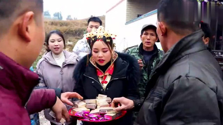 贵州农村办酒,新娘子发的为烟有点贵,不知多少钱一包?