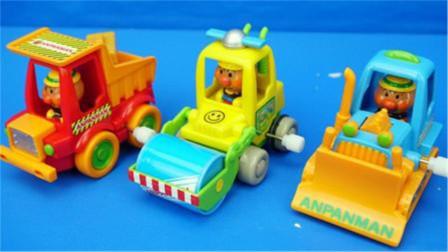 面包超人的工程车玩具大介绍