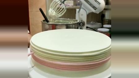 蛋糕师制作蛋糕的手法亮了!原来叉子可以这样用,我学到了