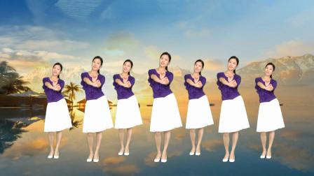 广场舞《天边花正香》简单基础32步优美动听