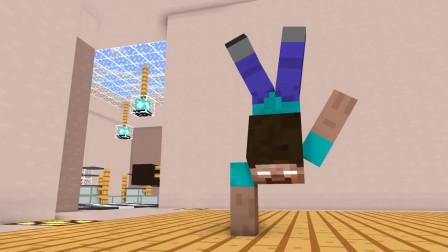 我的世界动画-怪物学院-炼制Herobrine-rusplaying