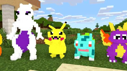 我的世界动画怪物学院精灵宝可梦