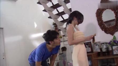 泰剧:美女被男子从背后拥抱,下秒直接动手揍他,谁知男子是后爸