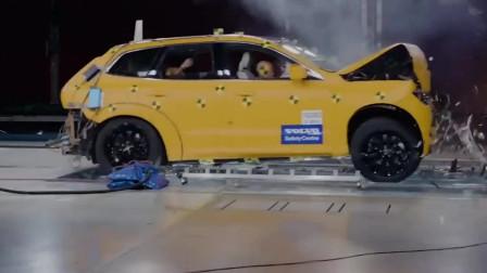 沃尔沃凭啥号称最安全汽车?65KM_H碰撞测试,果然是名不虚传!