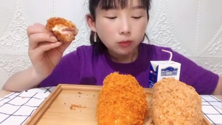 吃播:肉松特辑(一大波肉松正在赶来)