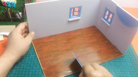 迷你生活:小厨房开窗贴地板