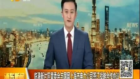 视频|临港新片区管委会与国网上海市电力公司签订战略合作协议