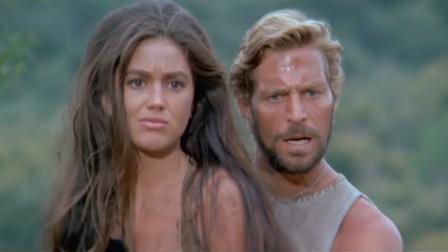 布伦特想找战友泰勒,泰勒媳妇带他到人猿之城,布伦特看了转身就跑