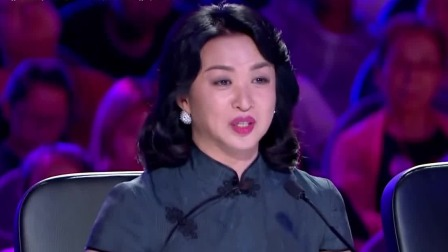 金星点评选手一针见血,对喜爱的节目开心难掩,可谓真性情! 中国达人秀 20191026