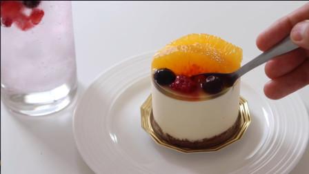 好吃的橙子慕斯蛋糕,做法简单容易,我家小孩天天都缠着我做