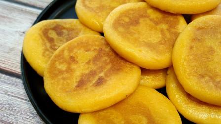 红薯饼这个做法最好吃,不用面粉,不油炸,软糯香甜,好吃又解馋