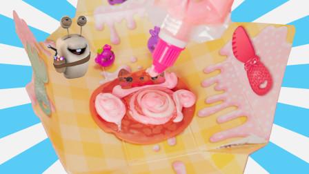 甜品宝宝盲盒 食玩奇趣蛋