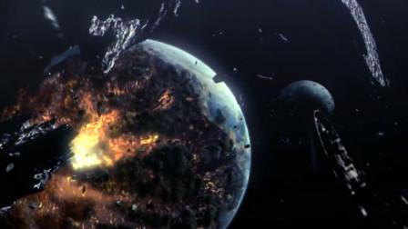 未来世界爆发超级战争,地球被炸没了一半,只有9人幸存!
