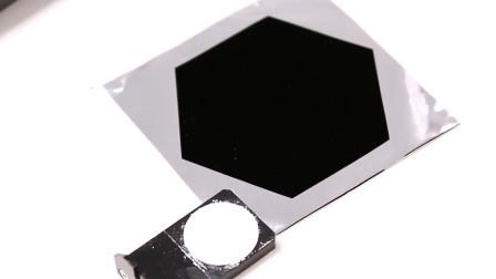 世界上最黑的物质,激光也无法将其照亮!
