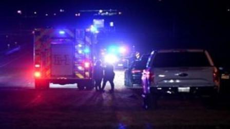 美国得州校园派对上发生大规模枪击案致2人,现场血迹遍地