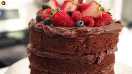 香草奶油蛋糕的做法,颜值高又好吃,看完还觉得做蛋糕难吗?