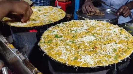 印度街头美食奶油奶酪蛋卷,用料实在诚意满满,看上去下不了口