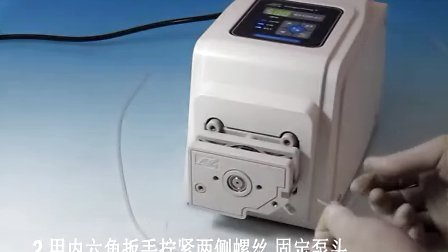 BT100-2J DG-1 泵头安装