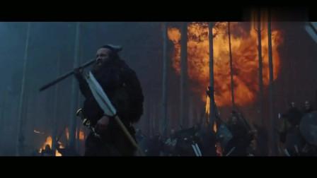 角斗士:罗马帝国攻占日耳曼,又是投石车又是火矢,场面十分壮观