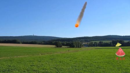 科幻电影里,陨石真的可以在外太空燃烧吗?看完涨见识了