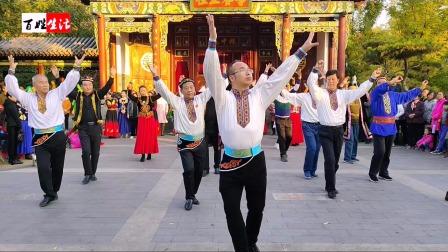 赵宇老师广场麦西来甫舞蹈教学
