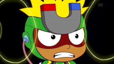 开心超人:花心超人因为超能电池,将他的听力提高了一百万倍!