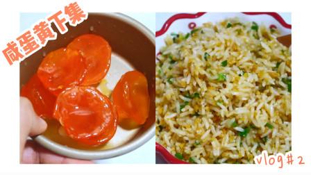 新学的腌制蛋黄的方法,除了浪费盐之外,只能用作炒饭