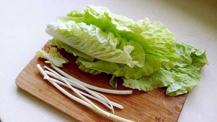 大白菜最好吃的做法,已经做了20年了,大白菜要这样做,比吃肉都香,上桌就会被抢光,炒5盘都不够吃